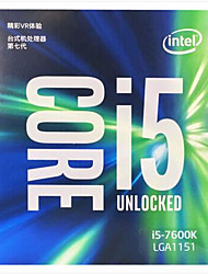 nucleo i5-7600k LGA 1151 processori desktop Intel