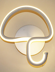 Modern Minimalist LED Lamp Bedroom Bedside Lamp Corridors Hotel Project Lighting Aluminum Circular Wall Lamp