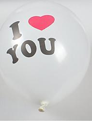 preiswerte -Ballons Spielzeuge Kreisförmig Aufblasbar Party keine Angaben Kinder 100 Stücke