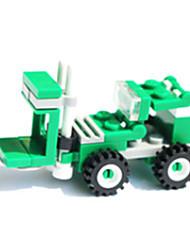 Blocs de Construction Voitures de jouet Chariot Elévateur Jouets Automatique Chariot Elévateur 33 Pièces