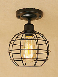 cheap -Pendant Light Ambient Light - Mini Style Designers, Lantern Country Retro, 110-120V 220-240V Bulb Included
