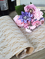 cheap -Material Jute Table Center Pieces - Non-personalized Table Runners Others Tables Flower 1 All Seasons