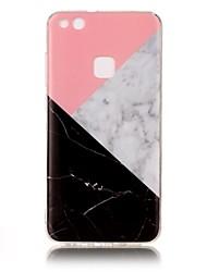 For Huawei P10 P8 Lite (2017) IMD Case Back Cover Case Marble Soft TPU for Huawei P10 Lite  Honor 8  Nova