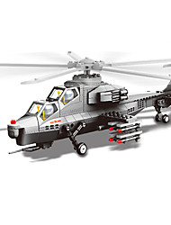 Building Blocks Helicopter Toys Aircraft Helicopter 304 Pieces Gift
