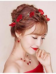 economico -imitazione perla fiori capelli bastone copricapo classico stile femminile