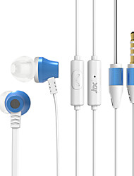 JTX S800 High Quality Volume Control In Ear Earphone for Iphone and Android Phones