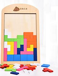 Недорогие -Набор для творчества Конструкторы Деревянные пазлы Игрушки Игрушки 1 Куски Детские Подарок