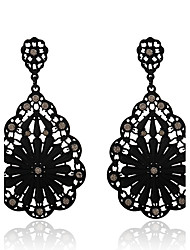cheap -Women's Drop Earrings Crystal Pendant Costume Jewelry Bohemian Crystal Alloy Geometric Jewelry For Party Daily Casual