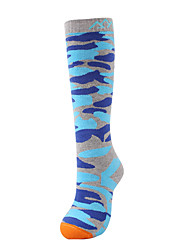 Спортивные носки Носки для пешеходного туризма Сохраняет тепло Быстровысыхающий С защитой от ветра Мягкий Анти-скольжение Не натирает