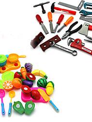 Tue so als ob du spielst Konstruktionswerkzeuge Toy Foods Spielzeuge Spielzeuge Simulation Kinder Jungen Stücke