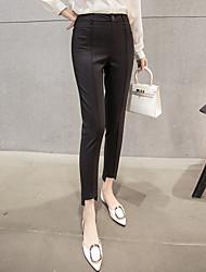 pantaloni neri molla femminile 2017 nuova ondata di sesso femminile collant pantaloni harem pants a vita vestito casuale pantaloni