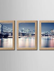 Stampe fotografiche Riproduzione Paesaggi Modern Classico,Tre Pannelli Stile Panoramica Stampa artistica Decorazioni da parete For