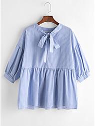 Ebay aliexpress новый бант галстук полосатый рубашка слоеный