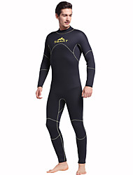 cheap -Sports Men's 5mm Full Wetsuit Breathable Quick Dry Anatomic Design Rubber Diving Suit Long Sleeve Diving Suits-DivingSpring Summer