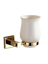 cheap -Toothbrush Holders Modern Linen/Polyester Blend   tumbler holder brass gold