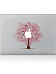 For MacBook Air 11 13/Pro13 15/Pro With Retina13 15/MacBook12 Pink Tree Decorative Skin Sticker