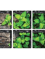 Botanisk Vægklistermærker Fly vægklistermærker Toilet klistermærker,Vinyl Materiale Hjem Dekoration Vægoverføringsbillede