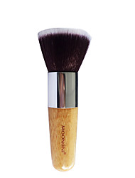 The New Single Flat Foundation Brush Portable Professional Foundation BB Cream On CC Cream Makeup Perfect Makeup Brush Package Mail