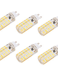6W G9 E26/E27 LED Corn Lights T 80 SMD 5730 550 lm Warm White Cold White 2700-3200    6000-6500 K Decorative Dimmable AC 110-130 AC