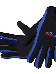 cheap -Sports Gloves / Diving Gloves 1.5mm Spandex Full-finger Gloves Keep Warm, Waterproof, Anti-skidding Diving