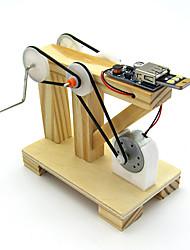Недорогие -Игрушки для изучения и экспериментов Обучающая игрушка Игрушки Цилиндрическая Ударная установка Своими руками Мальчики Девочки Куски
