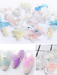 cheap -5*3Pcs/Box Colorful Dried Flower 3D Nail Decoration Preserved Flower Manicure Nail Art Decoration