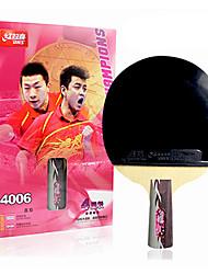 economico -Ping-pong Racchette Legno 4 Stelle Manopola corta / Brufoli Manopola corta / Brufoli