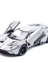 Недорогие -Игрушечные машинки Грузовик Игрушки моделирование Автомобиль Лошадь Металлический сплав Металл Куски Универсальные Подарок