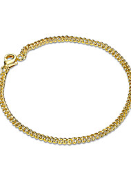 cheap -Women's Girls' Chain Bracelet Crystal Friendship Fashion Gold Plated Geometric Jewelry Christmas Gifts Wedding Party Special Occasion