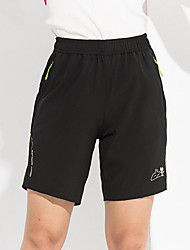 Women's Running Shorts Quick Dry Breathable Ultra Light Fabric Shorts Bottoms for Exercise & Fitness Leisure Sports Running Polyester M L