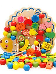 Bausteine Bildungsspielsachen Spielzeuge LKW Tiere friut Stücke Kinder Geschenk