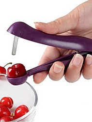 1 Cherry Seed Remover For Fruit Cooking Utensils Metal Plastic Creative Kitchen Gadget High Quality Multifunction