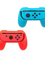 Nintendo Switch Joy-Con Grip Pack of 2 Wear-resistant Joy-con Handle for Nintendo Switch (Blue and Red)