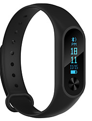 cheap -Smart Bracelet Smartwatch for iOS / Android Heart Rate Monitor / Blood Pressure Measurement / Calories Burned / Long Standby / Touch Screen Timer / Activity Tracker / Sleep Tracker / Sedentary / 64MB