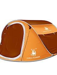 3-4 persone Tenda Doppio Tenda da campeggio Una camera Pop up tenda Portatile per Campeggio Viaggi CM