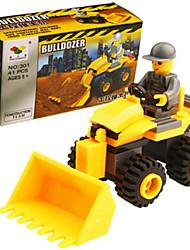 preiswerte -Bausteine Spielzeug-Autos Bulldozer Spielzeuge Spielzeuge Kinder 41 Stücke