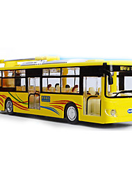 cheap -Toy Cars Bus Toys Music & Light Bus Double-decker Bus Metal Alloy Metal Pieces Children's Boys' Gift