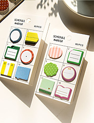 cheap -1 PCS Cute Self-Stick Notes Set
