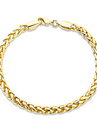 cheap -Women's Chain Bracelet Crystal Friendship Fashion Gold Plated Geometric Jewelry Christmas Gifts Wedding Party Special Occasion