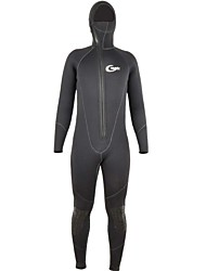 Men's 5mm Full Wetsuit Thermal / Warm Quick Dry Anatomic Design Breathable Compression Thick Neoprene Diving Suit Long Sleeves Diving