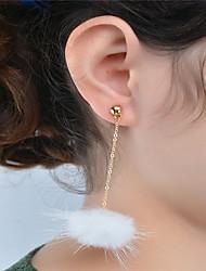 ieftine -Pentru femei Cercei Dangle Bijuterii Stil Atârnat La modă Adorabil Σταυρός Cute Stil Euramerican Teracotă Aliaj Circle Shape Bijuterii