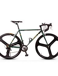 Недорогие -Cruiser велосипедов Велоспорт 21 Скорость 26 дюймы / 700CC Shimano Векторный ободной тормоз Без амортизации Без амортизации Обычные / Противозаносный Сталь