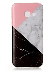 cheap -For Samsung Galaxy A5 (2017) A3 (2017) Case Cover Marble High - Definition Pattern TPU Material IMD Technology Soft Package Mobile Phone Case