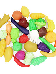 cheap -Toy Food / Play Food Toys Food Toys Child Safe lifelike Plastic Unisex 29 Pieces