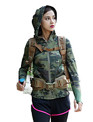 cheap -Women's Top Hunting Leisure Sports Waterproof Windproof Wearable Breathable Spring Summer Winter Fall/Autumn