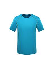 Unisexe Tee-shirt de Randonnée Résistant à la poussière Vestimentaire Respirable Tee-shirt Hauts/Top pour Camping / Randonnée Escalade