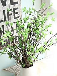 1 Ramo Vime Plantas Flor de Mesa Flores artificiais