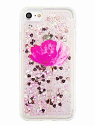 For iPhone 7 7 Plus Flowing Liquid Pattern Case Back Cover Case Flower Soft TPU for iPhone 6s 6 Plus SE 5S 5 5C 4S
