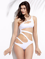 cheap -Women's Halter Monokini - Solid