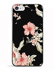 Para iPhone 8 iPhone 8 Plus Carcasa Funda Diseños Cubierta Trasera Funda Flor Suave TPU para Apple iPhone 8 Plus iPhone 8 iPhone 7 Plus